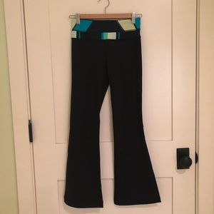 EUC Lululemon Boot Cut wunder under